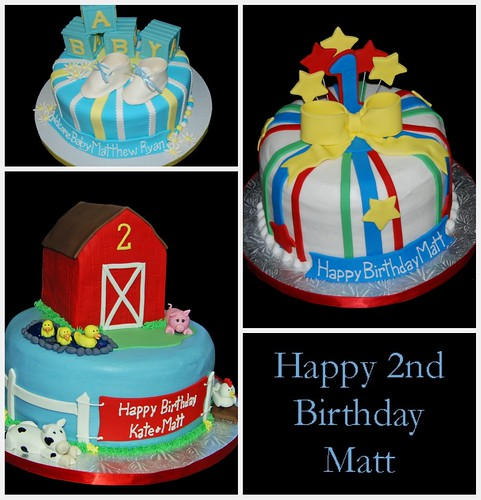 Matt's Birthday Cake Collage
