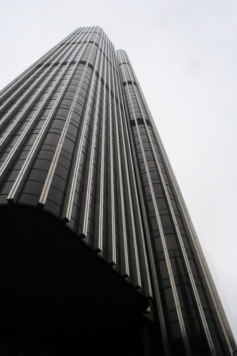 Tower 42 from underneath