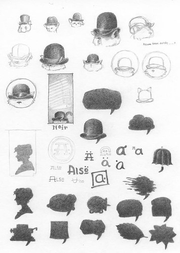 identity item sketches