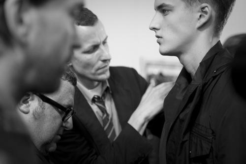 lanvin, Alber Elbaz, Lucas Ossendrijver, backstage