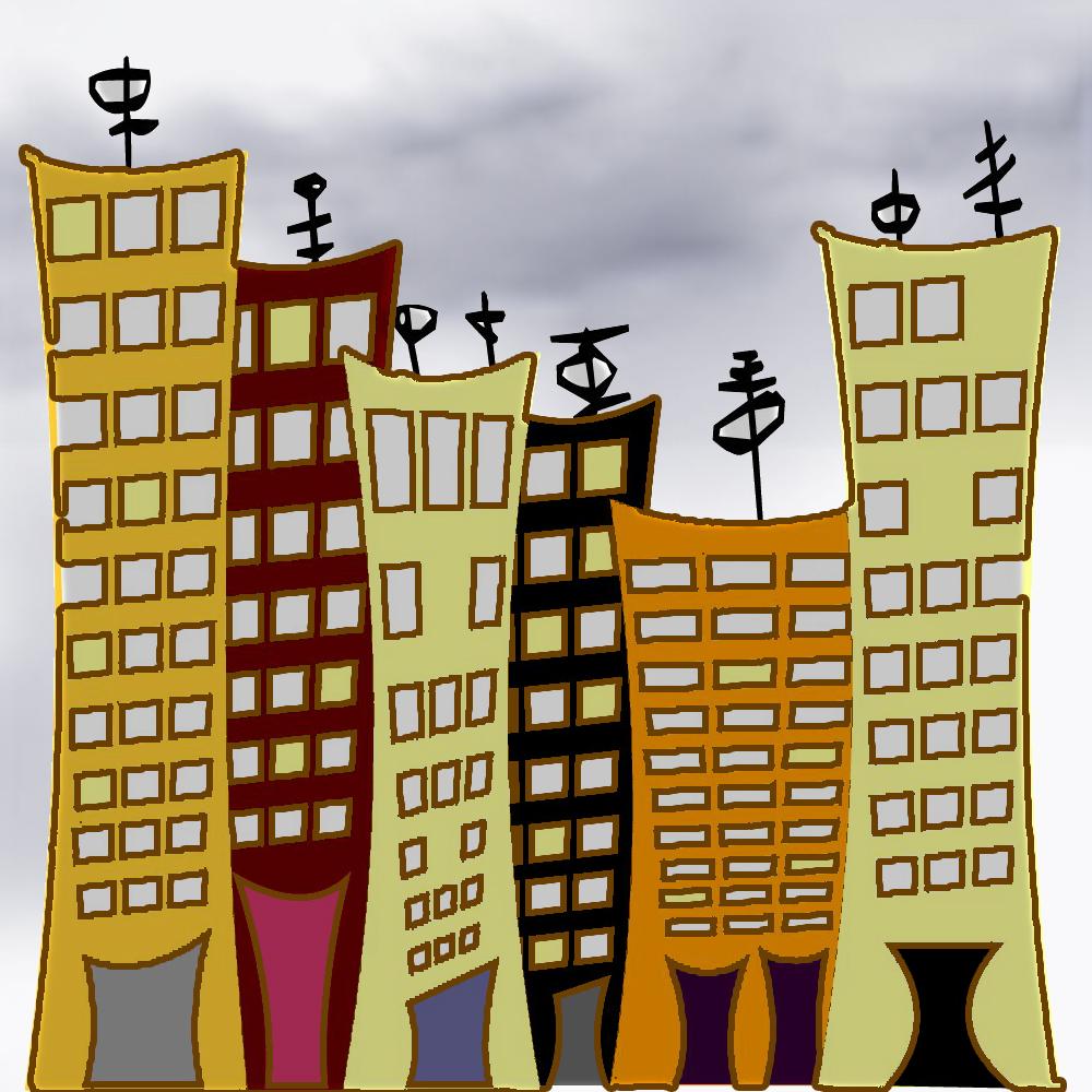 imagen de ciudad urbana