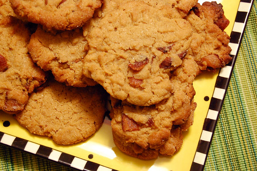 Peanut Butter & Bacon Cookies