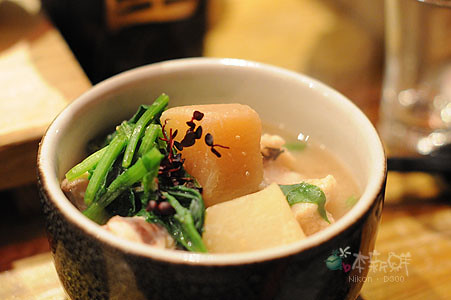 安康魚菠菜味噌湯