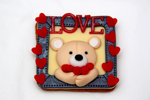valentine day cookie