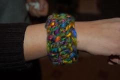 creazioni betta 006 (elisabetta mastrosimone) Tags: lana braccialetto alluncinetto