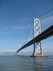 Bay Bridge (Scott Beale) Tags: sanfrancisco bridge fog baybridge
