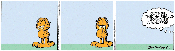 Garfield Minus Arbuckle, May 2, 2007