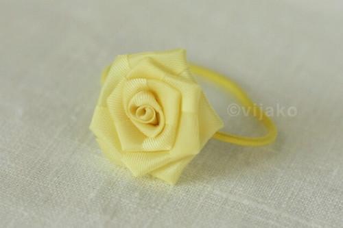 flower ponytail holder. vijako yellow ponytail holder middot; yellow rose ponytail holder middot; vijako purple flower