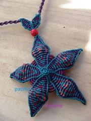 Estrella de mar (pacificdaphne) Tags: necklace handmade hilo collar macrame makrame artesania tejido hechoamano macramé hiloencerado κολιέσ μακραμέ