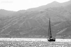 (claude.attard.bezzina) Tags: ocean sea bw italy italia yacht boating sicily strait sicilia messina charybdis scylla blackwhitephotos