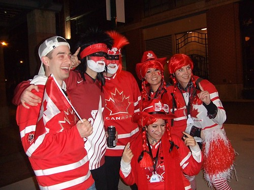 Vancouver 2010 Olympics Live City Yaletown Go Canada Go