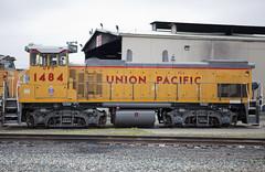 UPY 1484 MP15 (knelson27) Tags: train pacific union trains locomotive bnsf c45 p42 c44 mp15