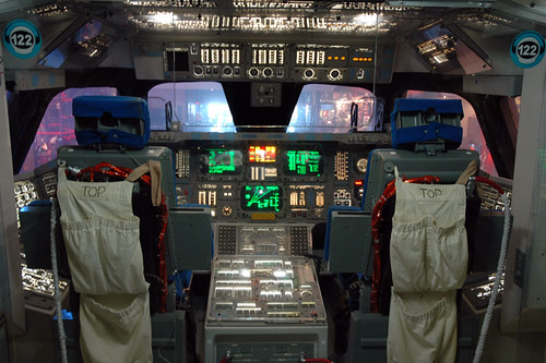space shuttle cockpit pictures. the space shuttle cockpit