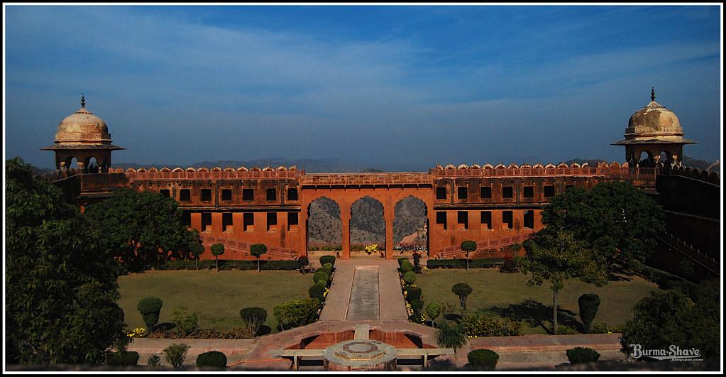 Mughal Garden, Jaigarh Fort