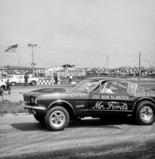 Bob DuBrock's Mustang Funny Car