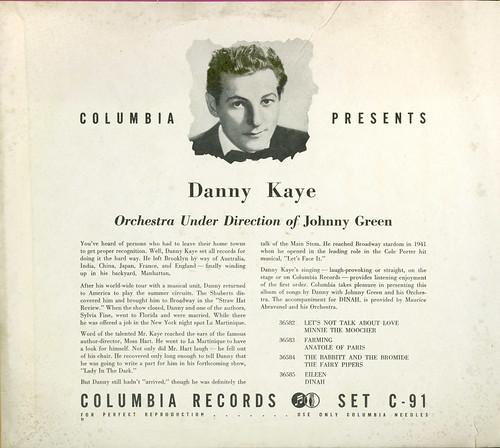 Danny Kaye 78s_inside cover