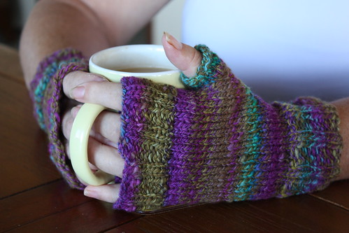 Homespun Mitts