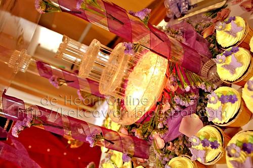 Wedding Cakes for Ikhwan & Diana, Bukit Damansara,KL - 2 January 2010