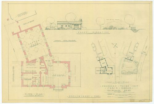 Balmorhea State Park - Proposed Third Cabin Group - SP47-69