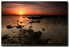 The Pollution (ibrahem N. ALNassar) Tags: sunset canon landscape eos n pollution l 5d kuwait usm ef 1740mm f4 the ابراهيم الكويت كويت alnassar كانون ibrahem التلوث النصار