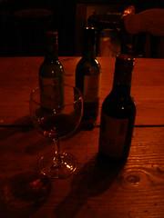 Having vino @ the Harbour Bar