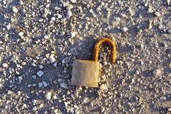 Broken Lock by lyudagreen, on Flickr