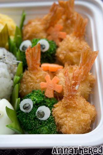 Totoro temari sushi bento