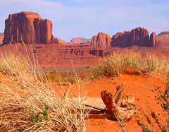 Monument Valley (Colorado Sands) Tags: arizona usa southwest nature america landscape us sand sandstone scenery unitedstates desert nation paisaje american desierto geology navajo monumentvalley amerika paysage paesaggio navaho americansouthwest tribalpark sandraleidholdt leidholdt sandyleidholdt