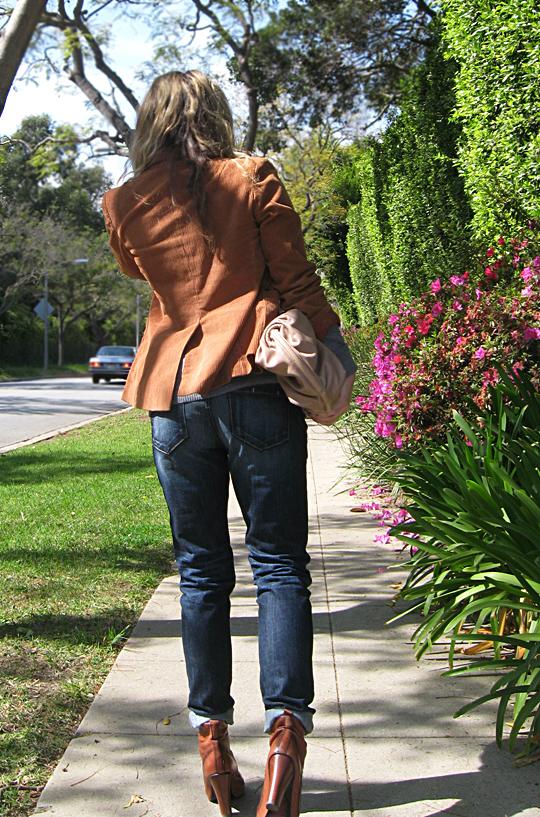 jeans blazer lace up boots 3 sharp