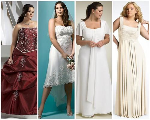 Full Figure Formal Dresses