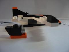 Cargo plane (The Legonator) Tags: lego microscale