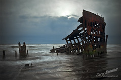 The Wreck of The Peter Iredale (Gary Randall) Tags: ocean sun water oregon rust iron ship steel ruin peter shipwreck iredale webscenery pascenery garyrandall dsc89992