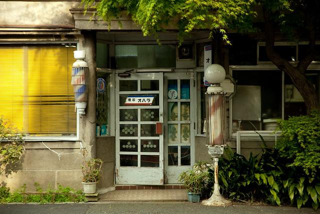 昭和の理髪店
