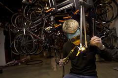 Bike_Builder_28 (atrain cycles) Tags: bicycle frame custom lugs 650b customframeframebuilding atraincyclesatraincycles