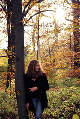 what i miss about fall (idaidaidaida) Tags: from park november autumn usa sun tree fall love colors girl scarf copenhagen nikon october colorful warm europe day forrest you great sydney september jeans 200 flannel mm 55 miss leafs ida lumberjack d3000
