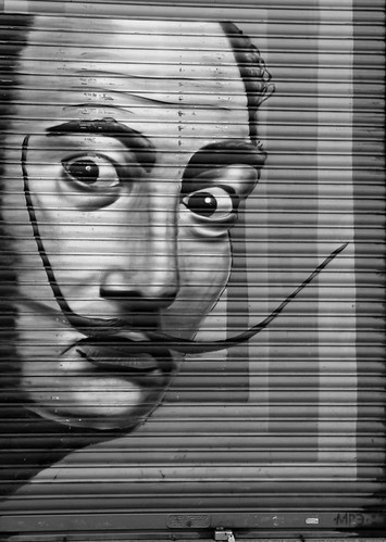 Salvador Dalí ~ 17/52 Week of No Color