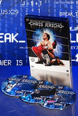 Chris Jericho: Breaking The Code (Darrell Golphin) Tags: blue texture advertising photography marketing dvd tn wrestling ad best reflect madison commercial product wwe wcw fozzy reflectivesurface ecw chrisjericho y2j bestproductphotography studioproductphotography 590cheronroad darrellgolphinphotography