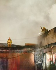 Greater Alarm Fire in Downtown Los Angeles. © Photo by John Conkle. Click to view more...
