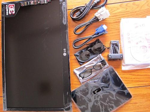 LGのモニターD2342P