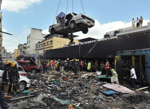 A Nairobi explosion has reportedly injured 29 people in Kenya. Investigations are underway to determine if the explosions resulted from a planted device. by Pan-African News Wire File Photos
