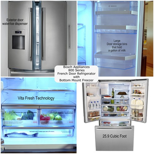 Bosch 800 Series French Door Refrigerator