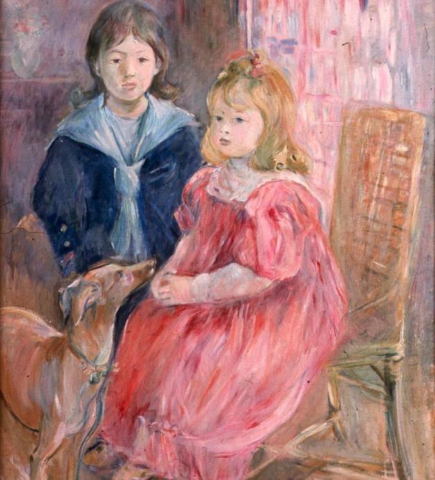 Berthe Morisot - Les enfants de Gabriel Thomas