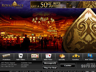 Royal Ace Casino Home