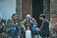 over a cup of coffee (Dave_B_) Tags: africa street old people man delete2 back cool nikon islam north save3 delete3 save7 social save8 delete delete4 save save2 save9 save4 morocco arab save5 save10 uncool save6 timers laid d60 worldtour essouira uncool2 uncool3 uncool4 uncool5 uncool6 uncool7 worldtour2010 savedbythehotboxuncensoredgroup