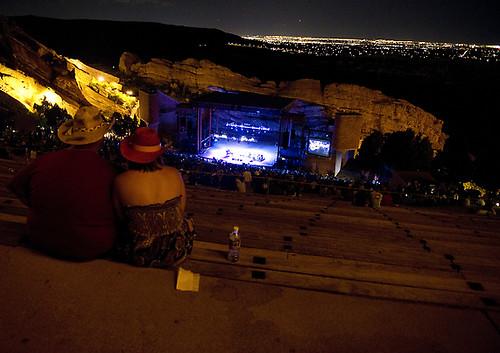 Willie Nelson Red Rocks