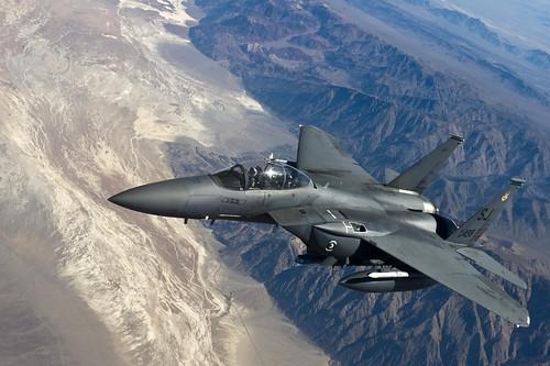 フリー写真素材, 乗り物, 航空機, 戦闘機, F- イーグル, F-E ストライクイーグル, アメリカ空軍,