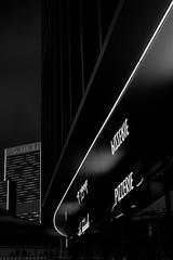 Frankfurt am Main - Den Haager Street (Picturepest) Tags: frankfurt frankfurtmain frankfurtammain frankfurtam frankfurtamain francfort hesse hassia hessen deutschland deutsch german germany allemagne germania alemania europe europa schwarzweis schwarzweiss sw blackwhite bw blackandwhite monochrome einfarbig twartwit noir architektur architecture skyscraper wolkenkratzer hochhaus building gebäude haus house façade fassade window windows fenster fensterscheibe scheibe reflection reflektion mirror spiegel spiegelung lichter lights darksky