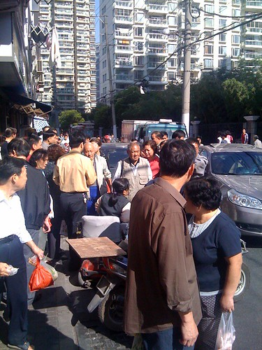 street fight in shanghai