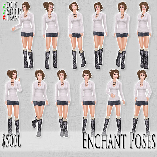 [ImpEle] Enchant Poses