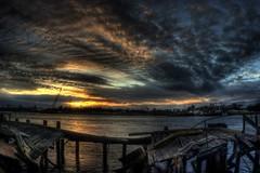 broken dock sunset (Drasdax) Tags: hdrphotography flickrchallengewinner